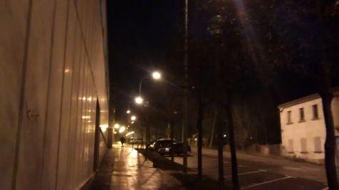 ausencia de iluminacion calle Fuenmayor